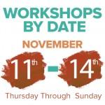 Art Workshops By Date - Art of The Carolinas