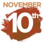 Workshops on Saturday November 10th