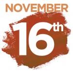 Workshops on Saturday November 16th