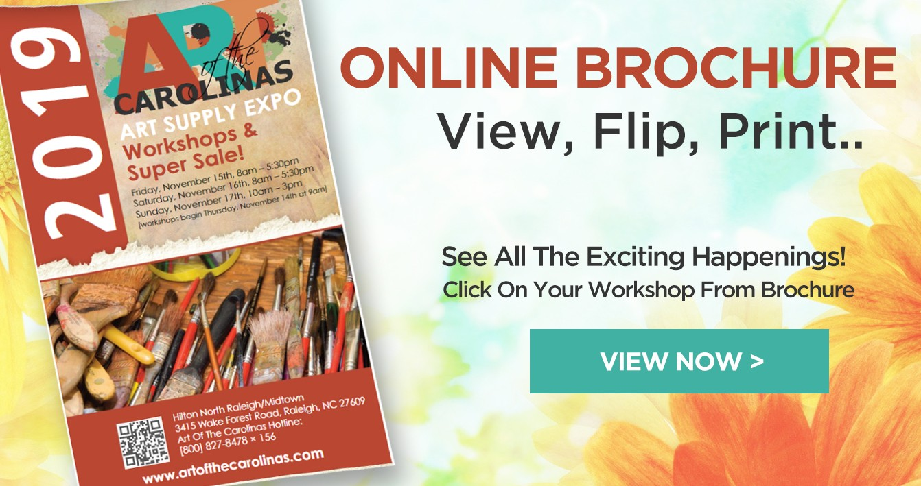 Art of the Carolinas - Art Workshops and Supply Expo November 14th-17th